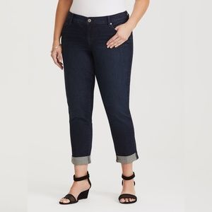 NWT Torrid Boyfriend Jean Pants - Dark Wash 4XL